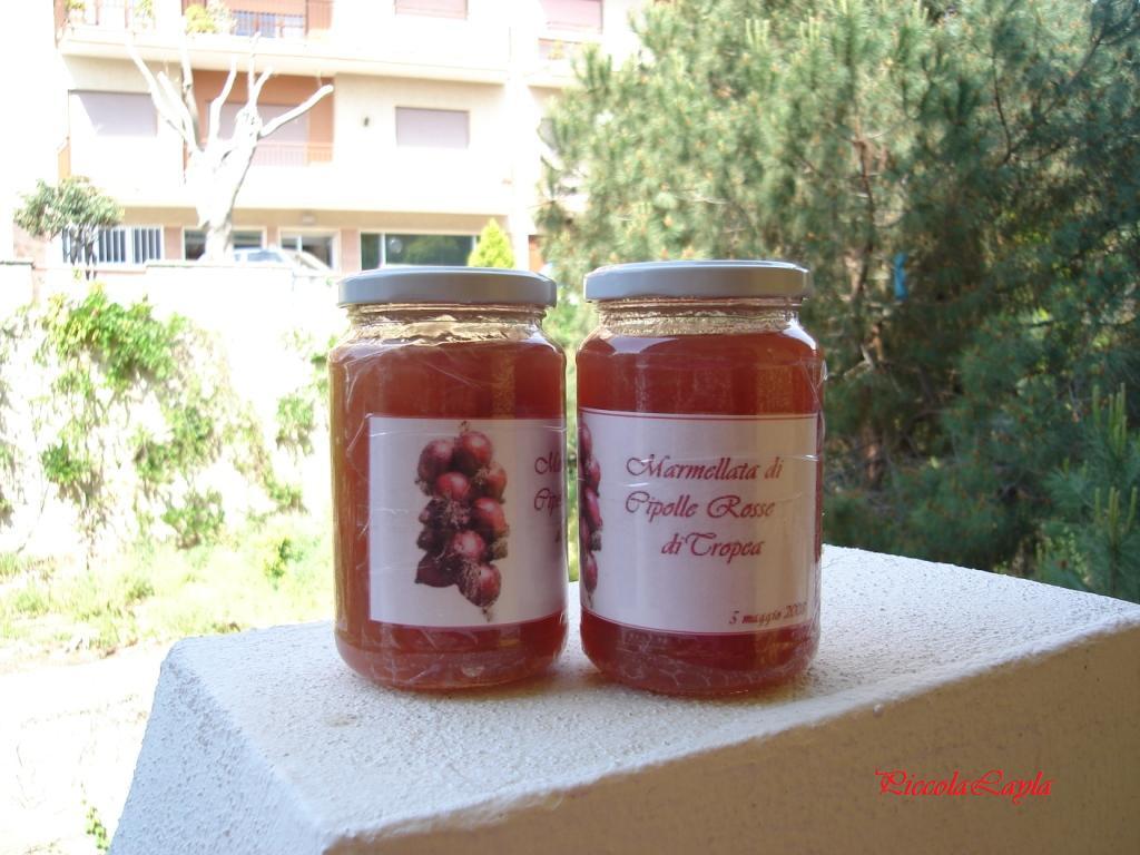 Marmellata Di Cipolle Rosse Di Tropea Profumo Di Sicilia