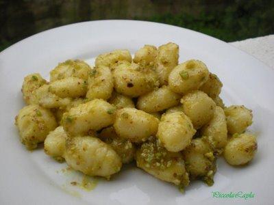 Pesto di Pistacchi e Mandorle