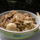 riso basmati con seppie e fagiolini in salsa di soja (3)