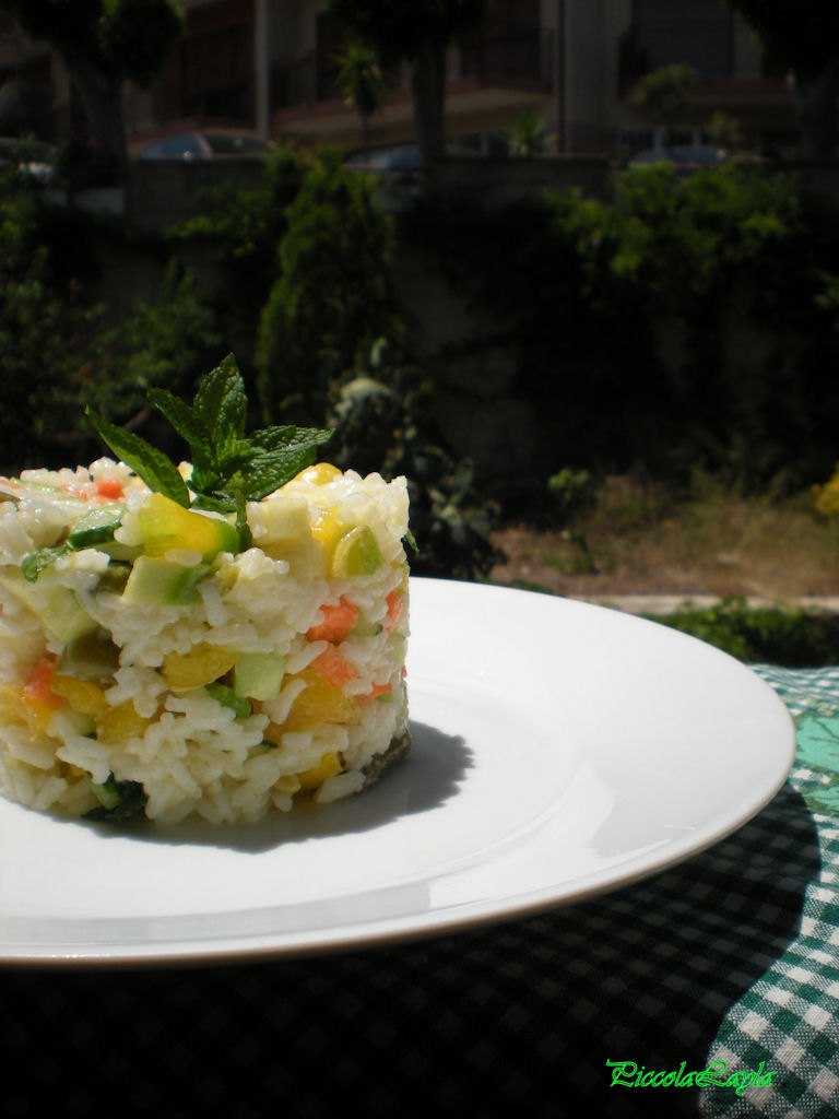 insalata di riso con verdure  (1)