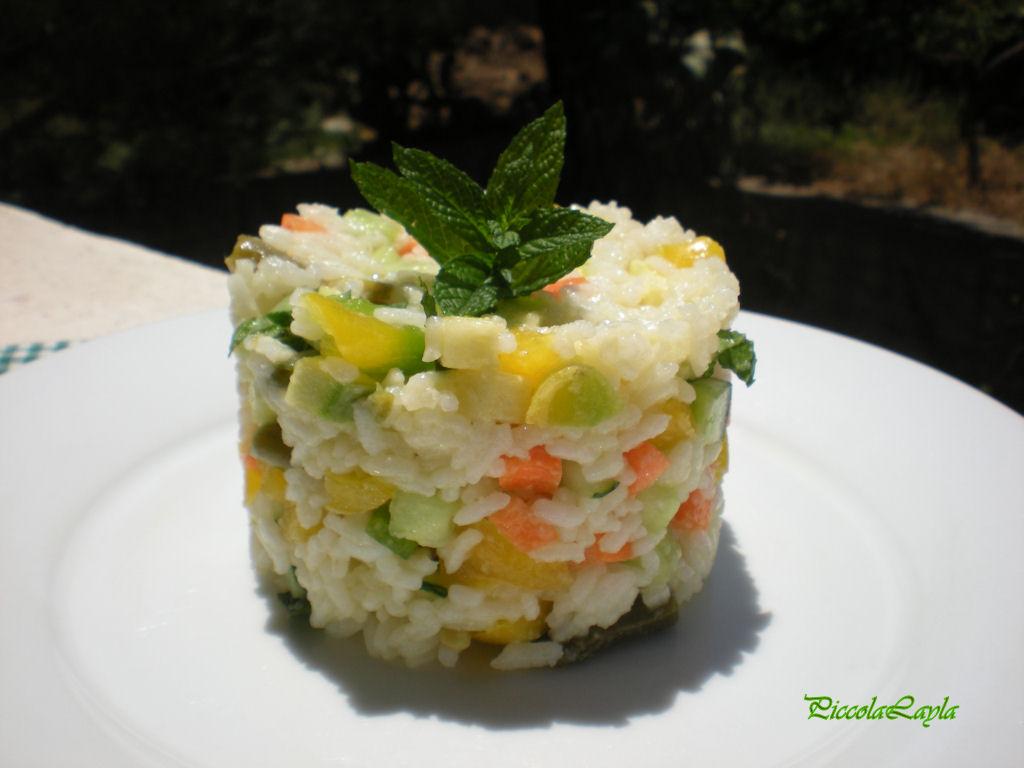 insalata di riso con verdure  (10)