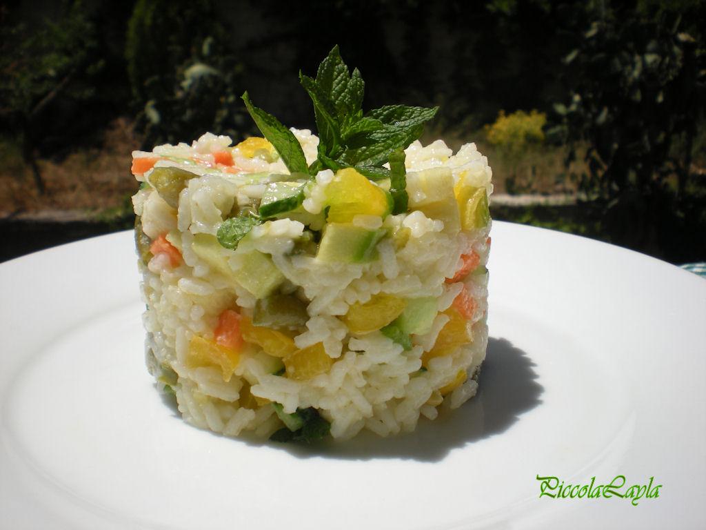 insalata di riso con verdure  (11)