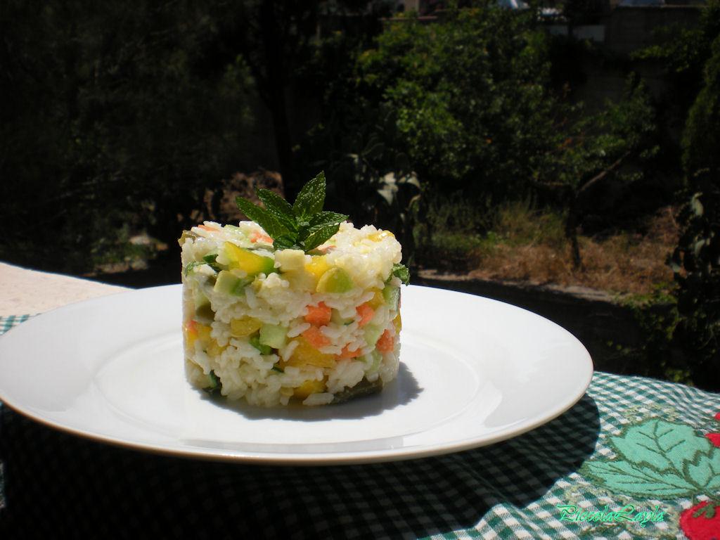 insalata di riso con verdure  (2)