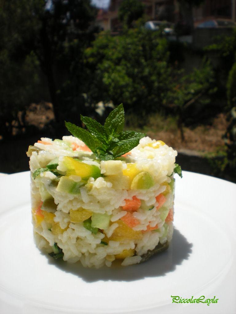 insalata di riso con verdure  (7)