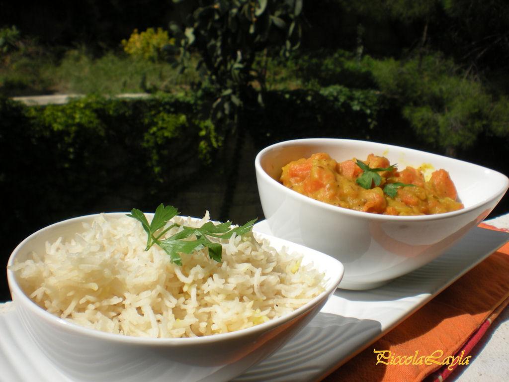 Korma di Zucca e Patate un piatto indiano delicato e profumato