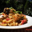Spaghetti alla Chitarra con Pesce Spada