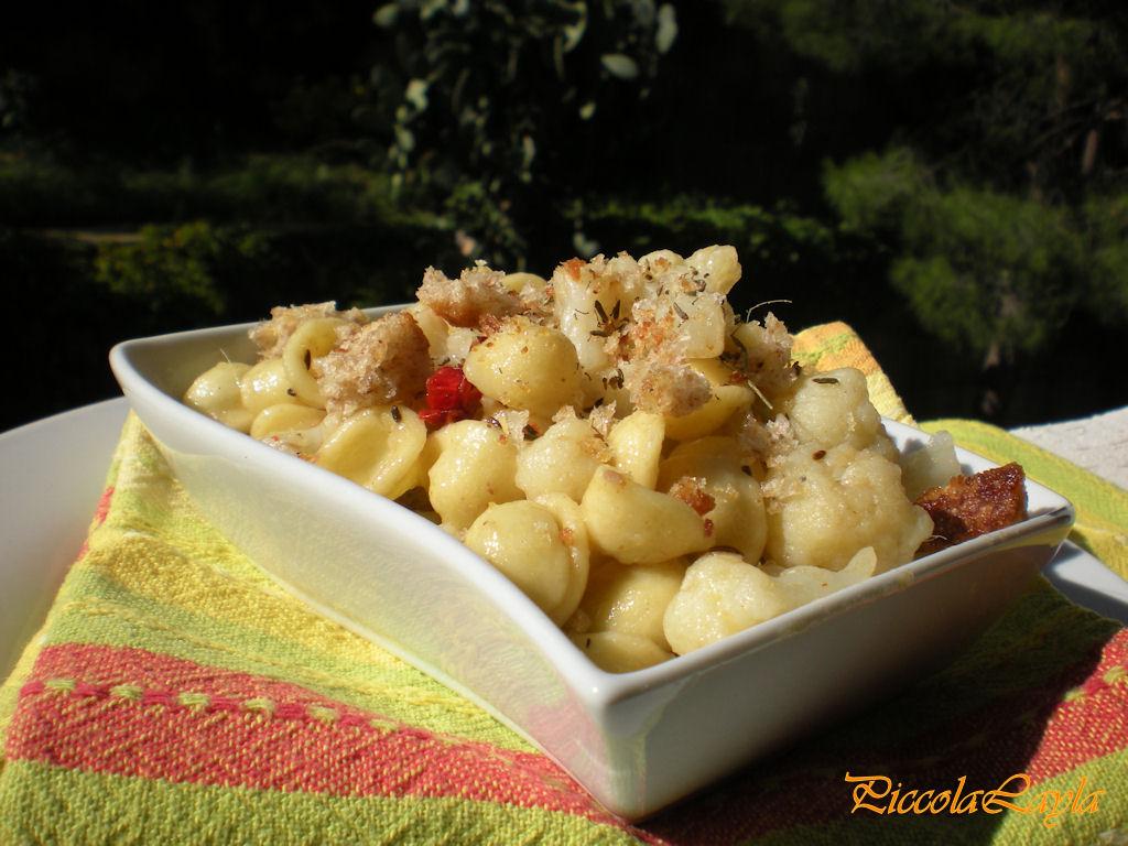 Orecchiette con Cavolfiore e Briciole di Pane