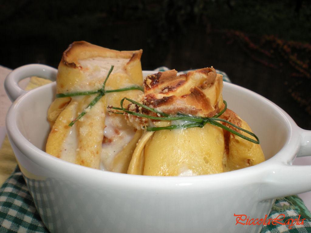Ricetta crepes con ripieno di carne
