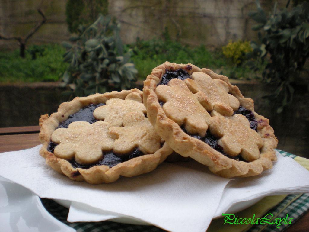 crostatine ai mirtilli (9)