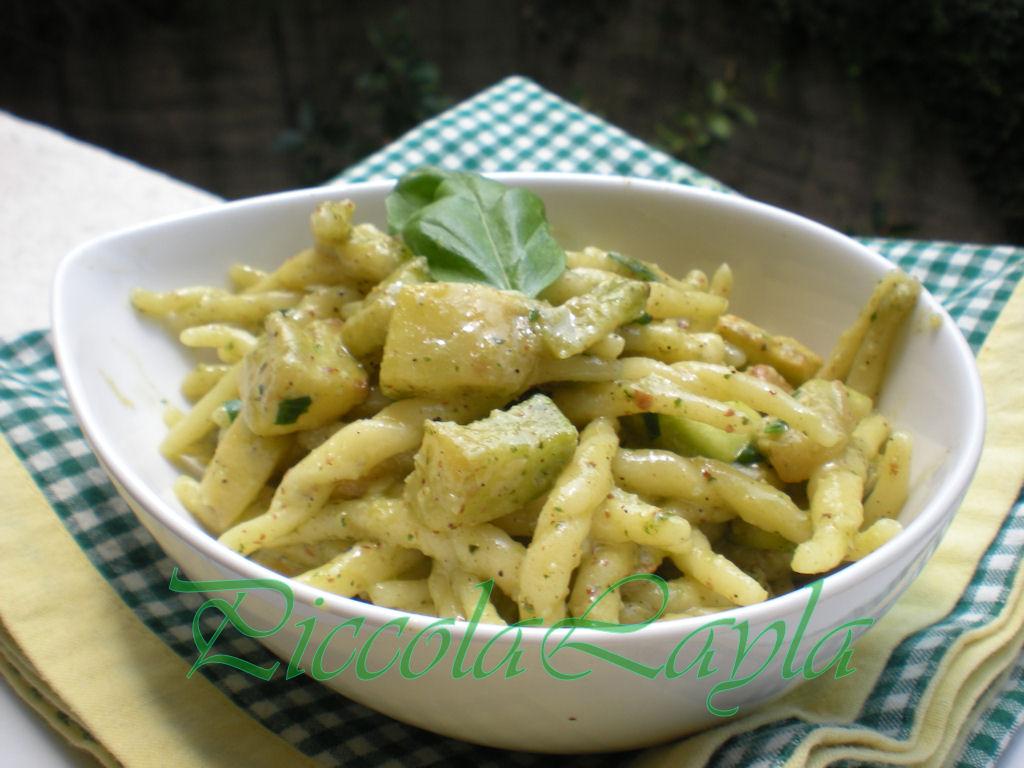 Trofie con Zucchine al pesto