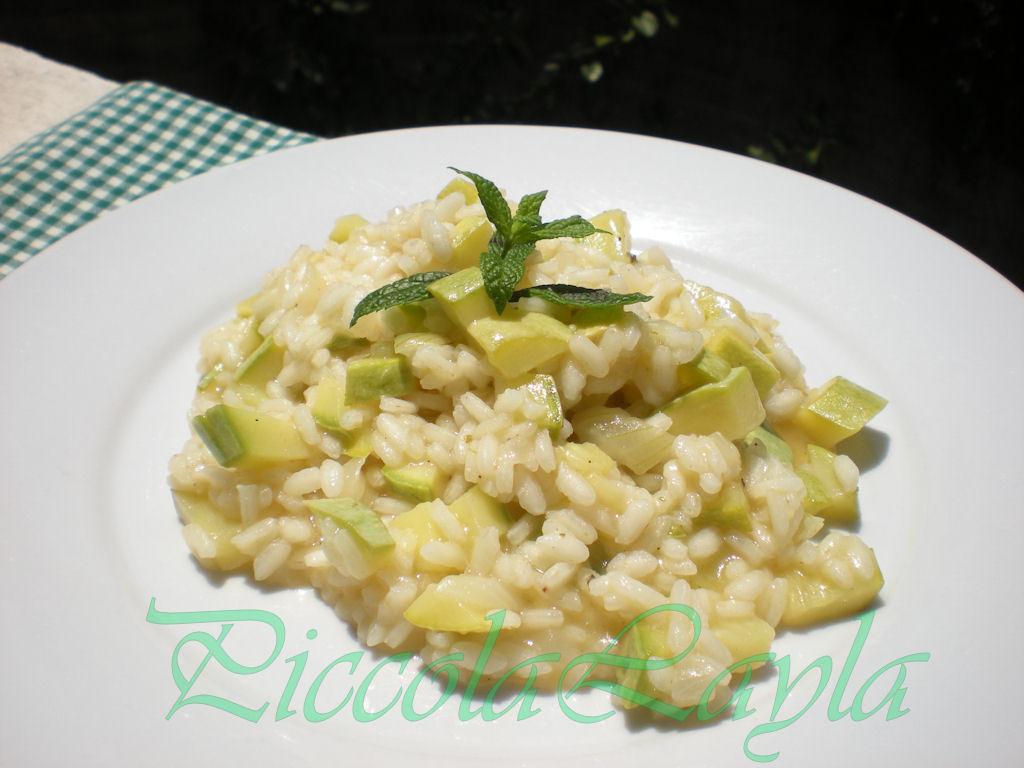 risotto zucchine e menta (1)b