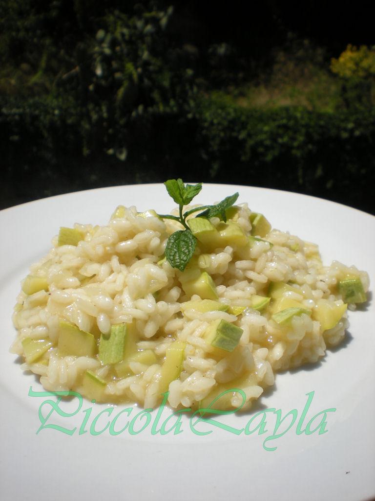 risotto zucchine e menta (3)b