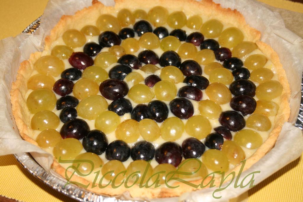 crostata crema e uva (10)b