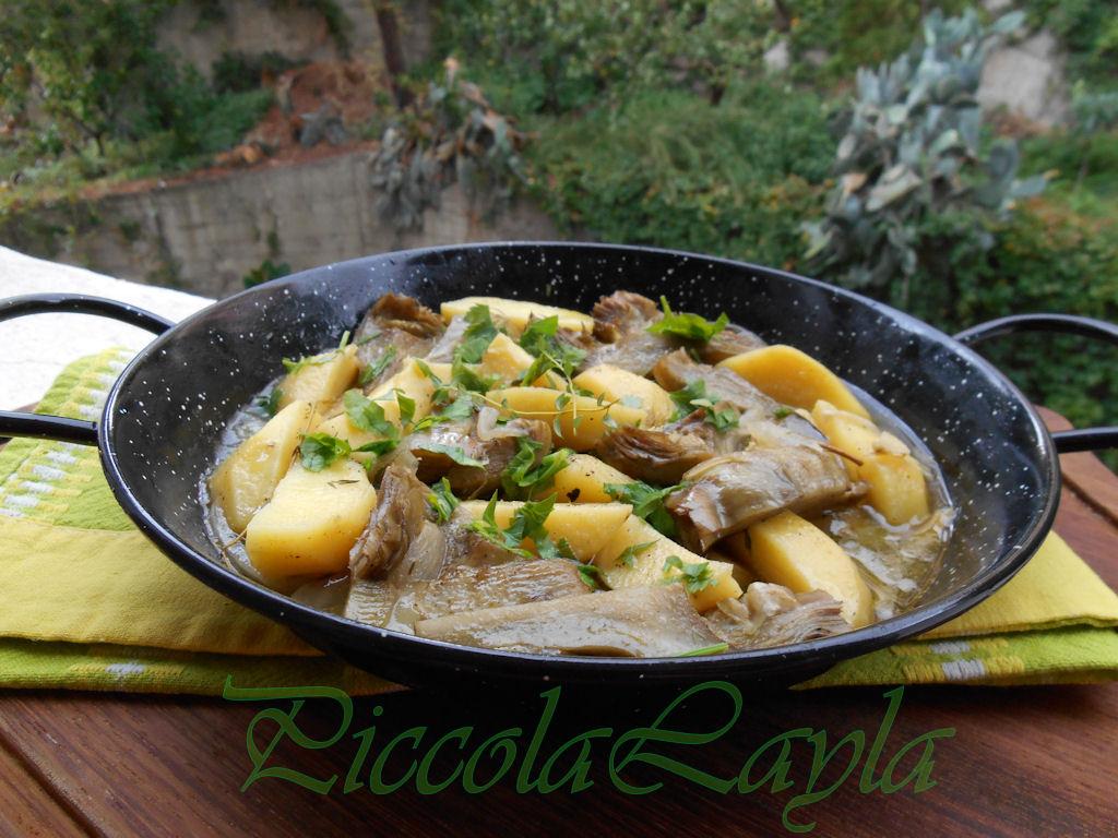 padellata di carciofi e patate (3)b