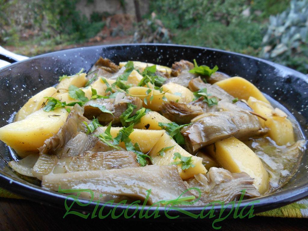 padellata di carciofi e patate (4)b