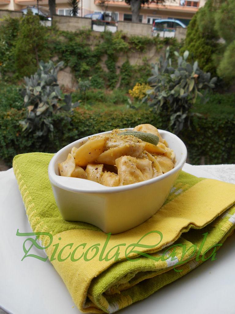 tortelli ai funghi con bescimella al pistacchio e gorgonzola (5)b