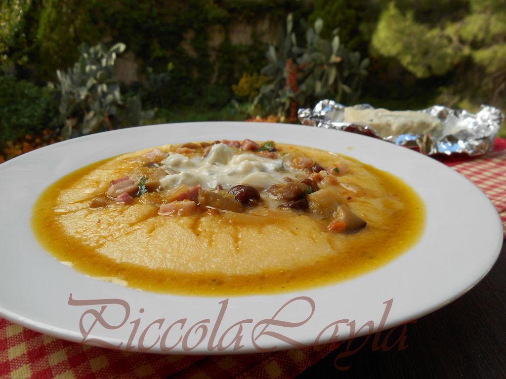 polenta ai funghi e gorgonzola (17)b