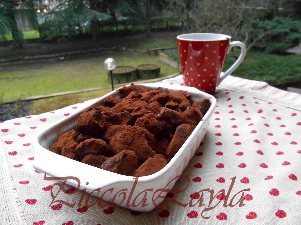 Tartufi al doppio cioccolato