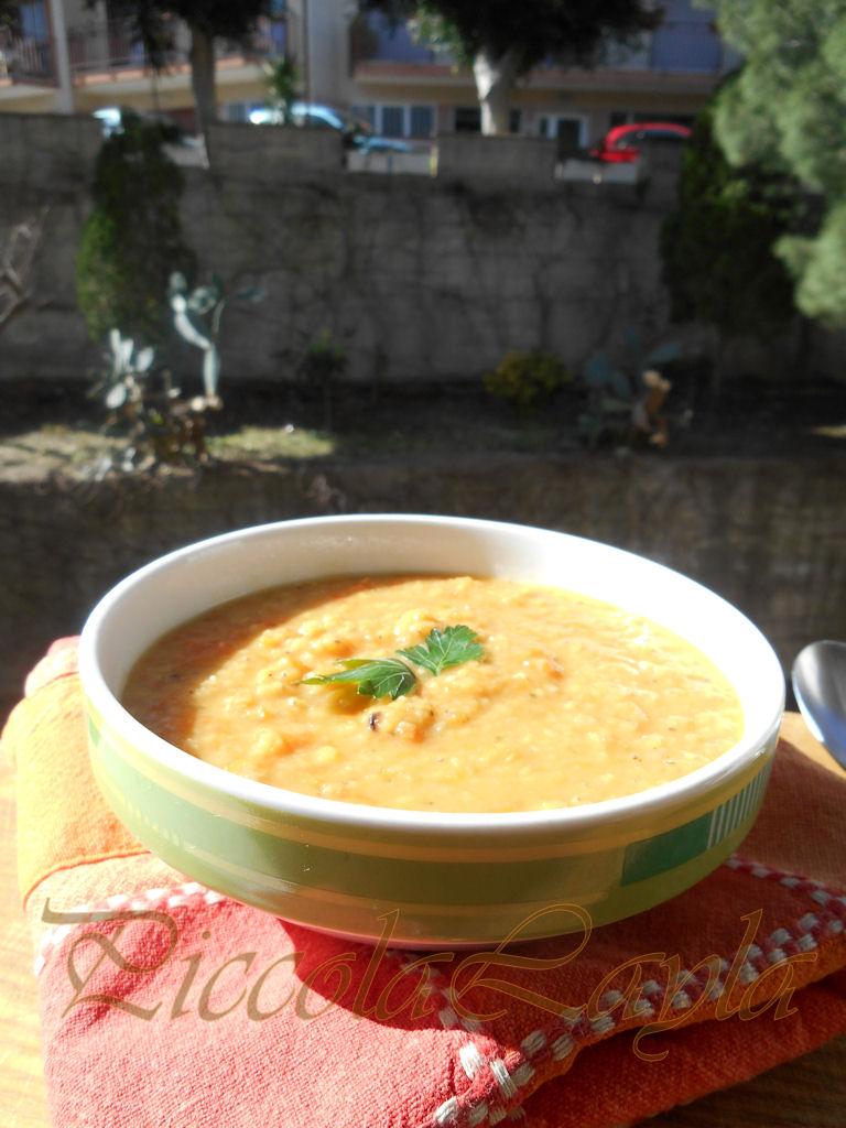 crema zucca e lenticchi (3)b