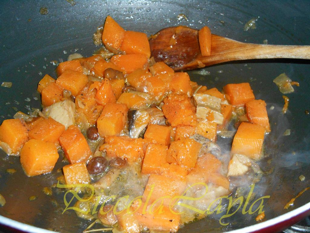 tagliolini saraceni funghi e zucca (2)b