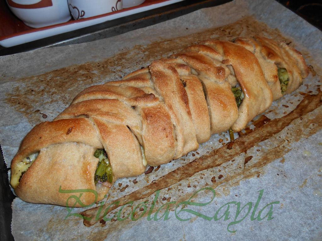 treccia con Broccolo Siciliano(11)b