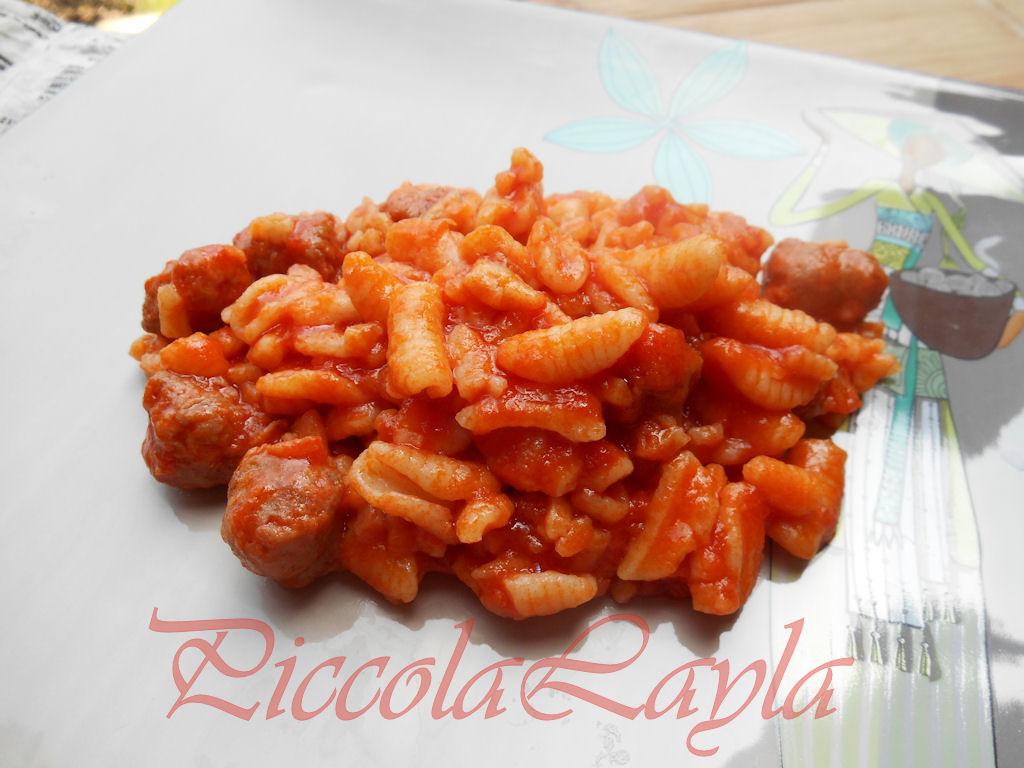 Malloreddus o Gnocchetti Sardi al Sugo di Salsiccia