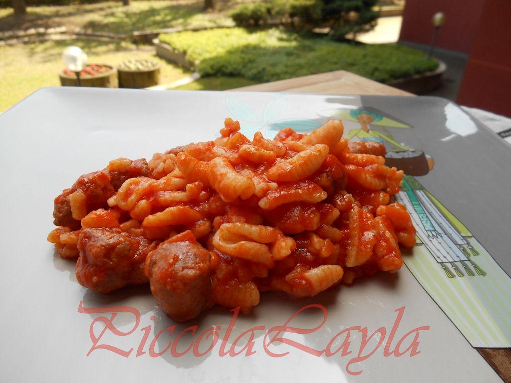 gnocchetti sardi   sugo salsiccia  (25)b