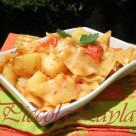 Pasta Patate e Pesto di Peperoni Speziati