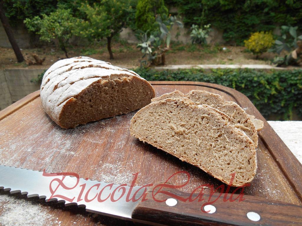 Pane di Segale Integrale con Pasta Madre