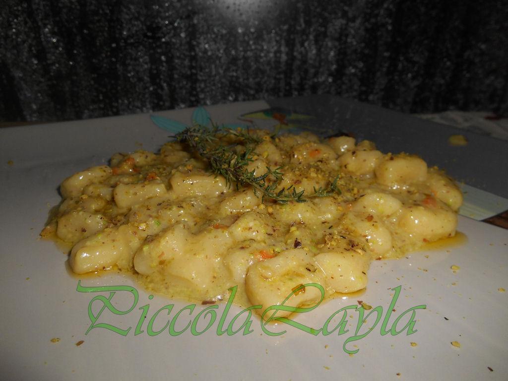 taleggio e pistacchio