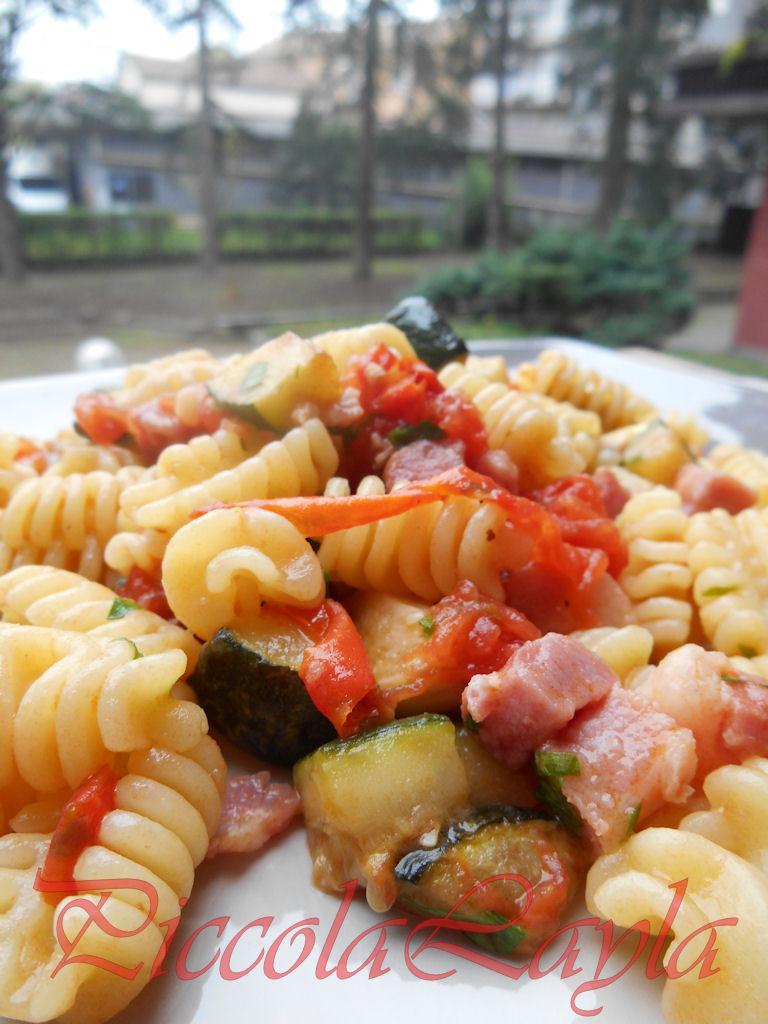 riccioli zucchine pancetta (22)b
