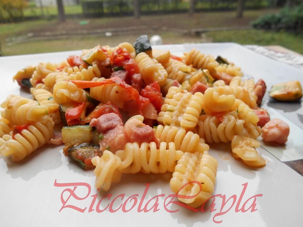 riccioli zucchine pancetta (25)b