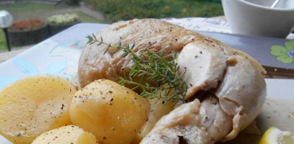 Pollo alla Marocchina con Limone e Cumino