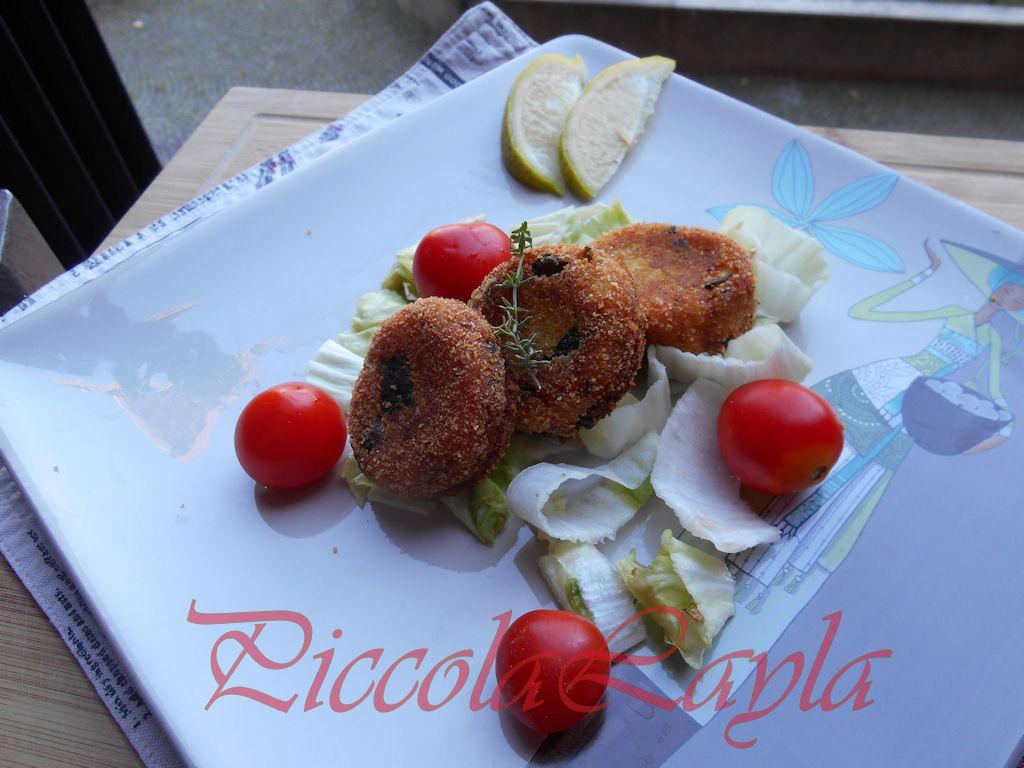 Polpettine di Zucchine al Timo e Limone