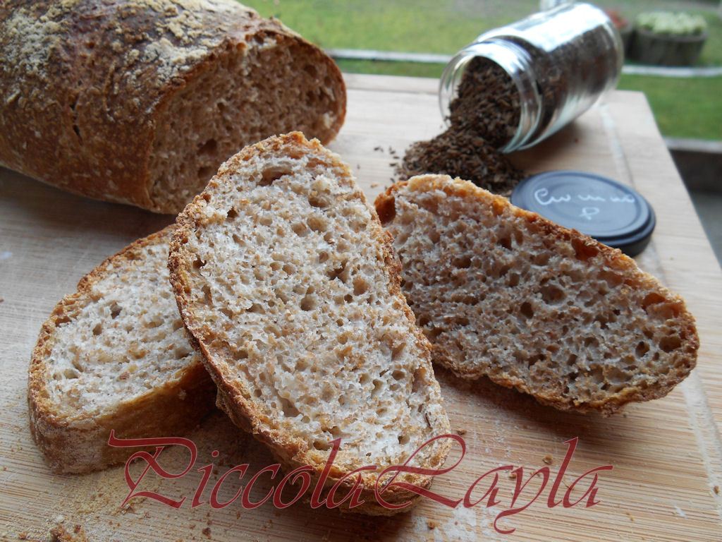 Pane integrale al cumino (12)b