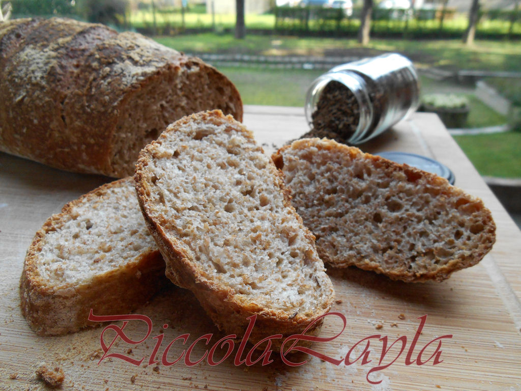 Pane integrale al cumino (17)b