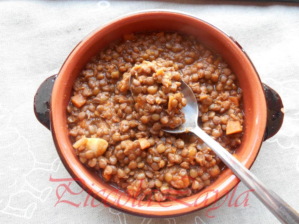 Lenticchie affumicate al pomodoro profumo di sicilia for Lenticchie d acqua