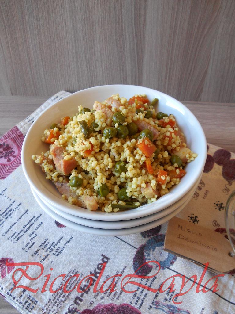 Miglio e Verdure Affumicate al Curry