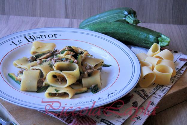Ragù alla Birra con Stick di Zucchine