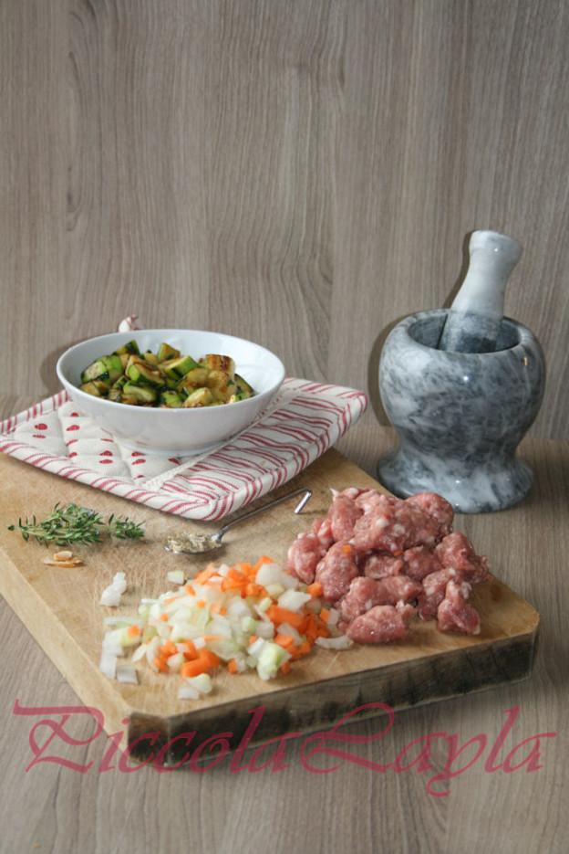 Malloreddus con Zucchine e Salsiccia