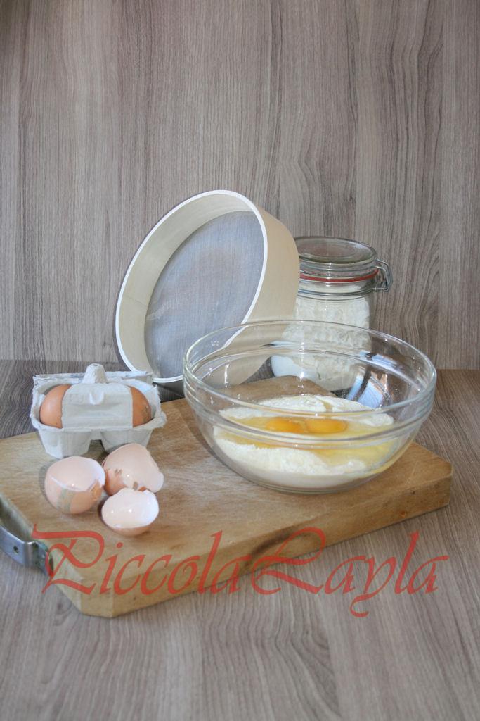 Tagliatelle all'uovo con Ragù di Ceci al Basilico