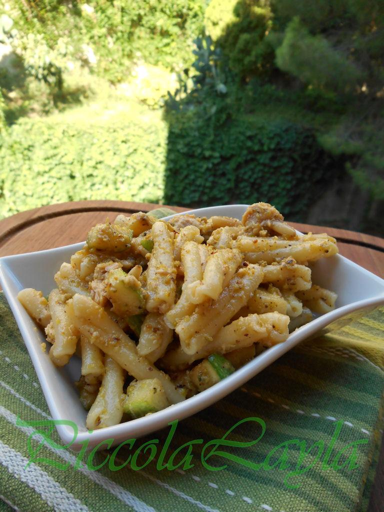 Insalata di Pasta con Pesto di Pistacchio e Zucchine