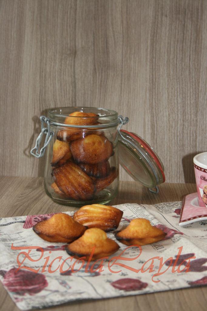 madeleine al mandarino piccole delizie francesi