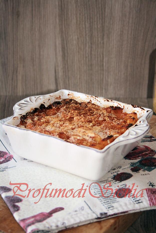Aneletti Siciliani e Patate al Forno