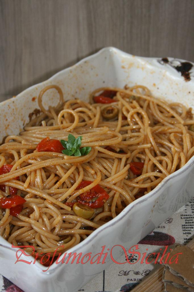 spaghetti con pomodorini gratinati (24)b