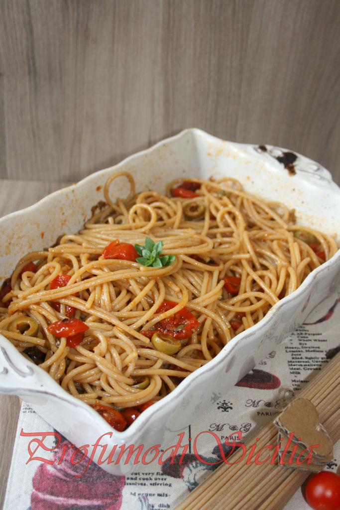 spaghetti con pomodorini gratinati (31)b