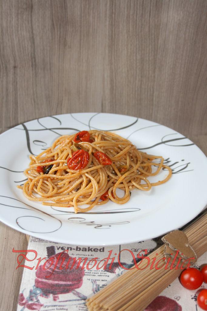 spaghetti con pomodorini gratinati (37)b