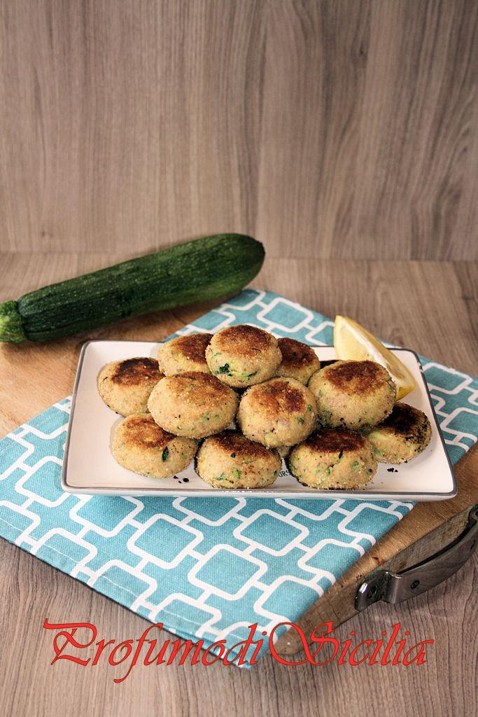 Polpette con Tonno e Zucchine