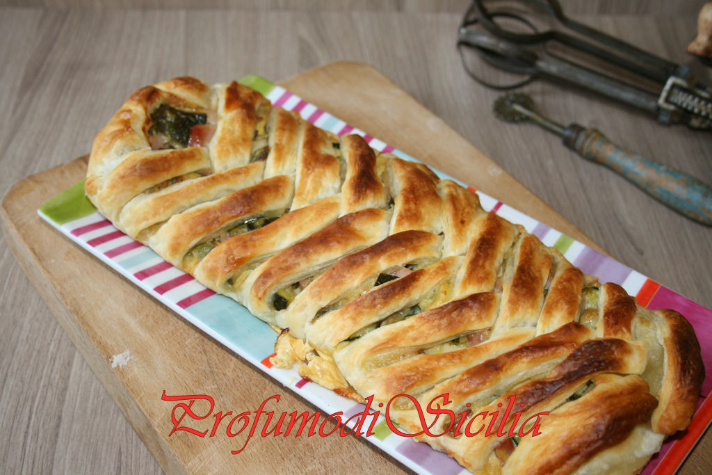 treccia con zucchine e cotto (3)b