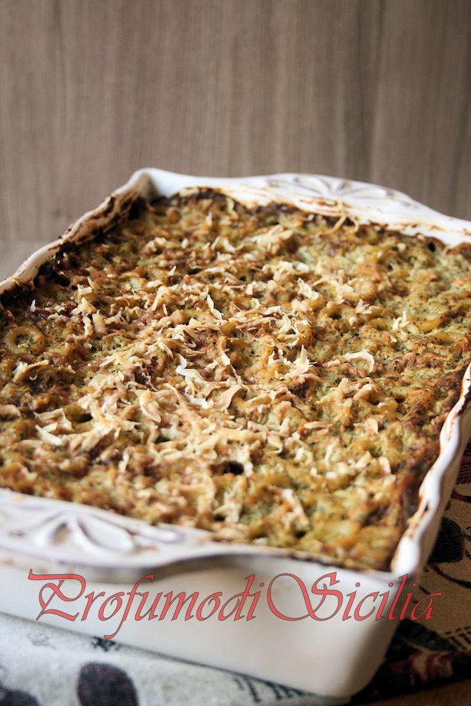 Anelletti al Forno con Broccoli e Provola dei Nebrodi